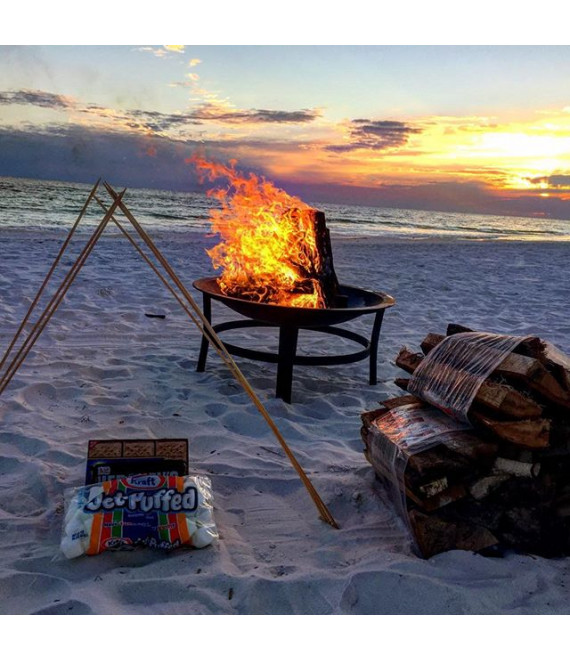 Standard Fire pit Beach Bonfire -Package B