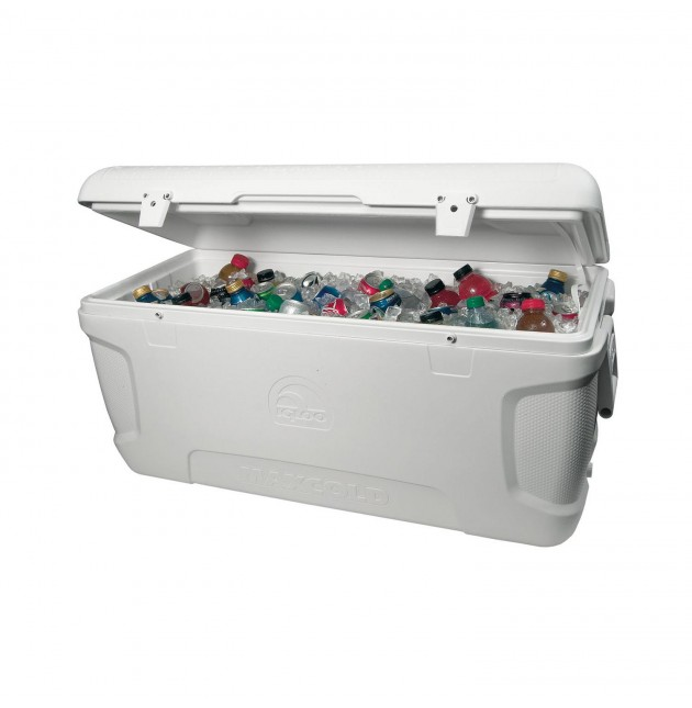 Oversized Cooler with Ice- 150 QT