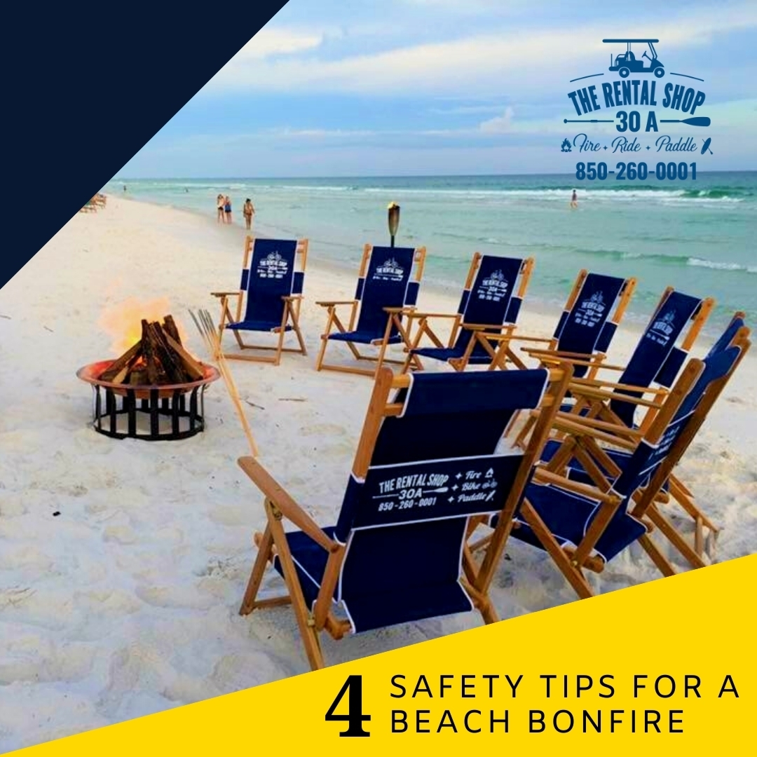 Safety Tips for a Beach Bonfire