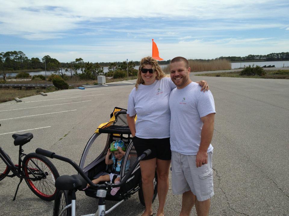 Biking With Family