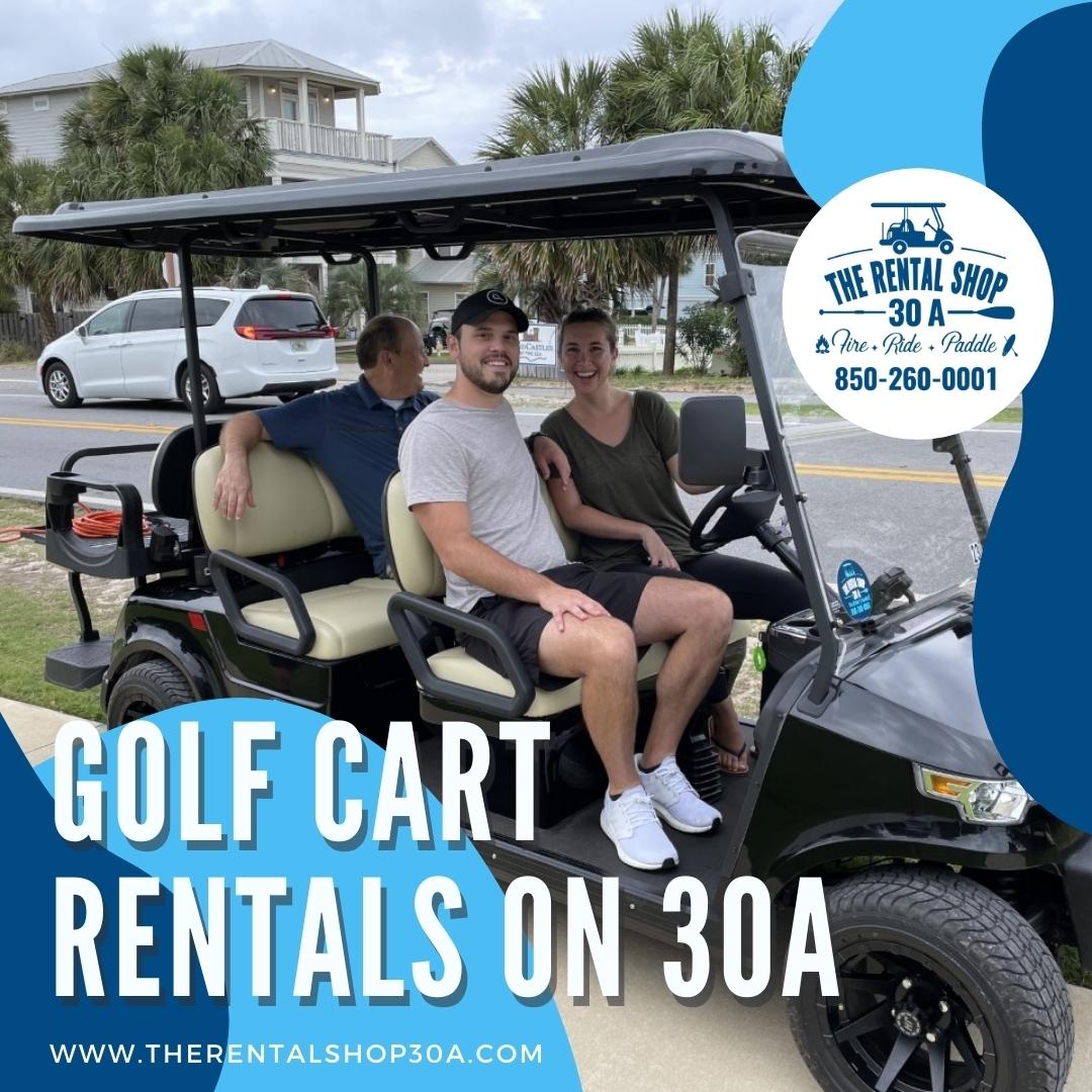 Golf Cart Rentals on 30A