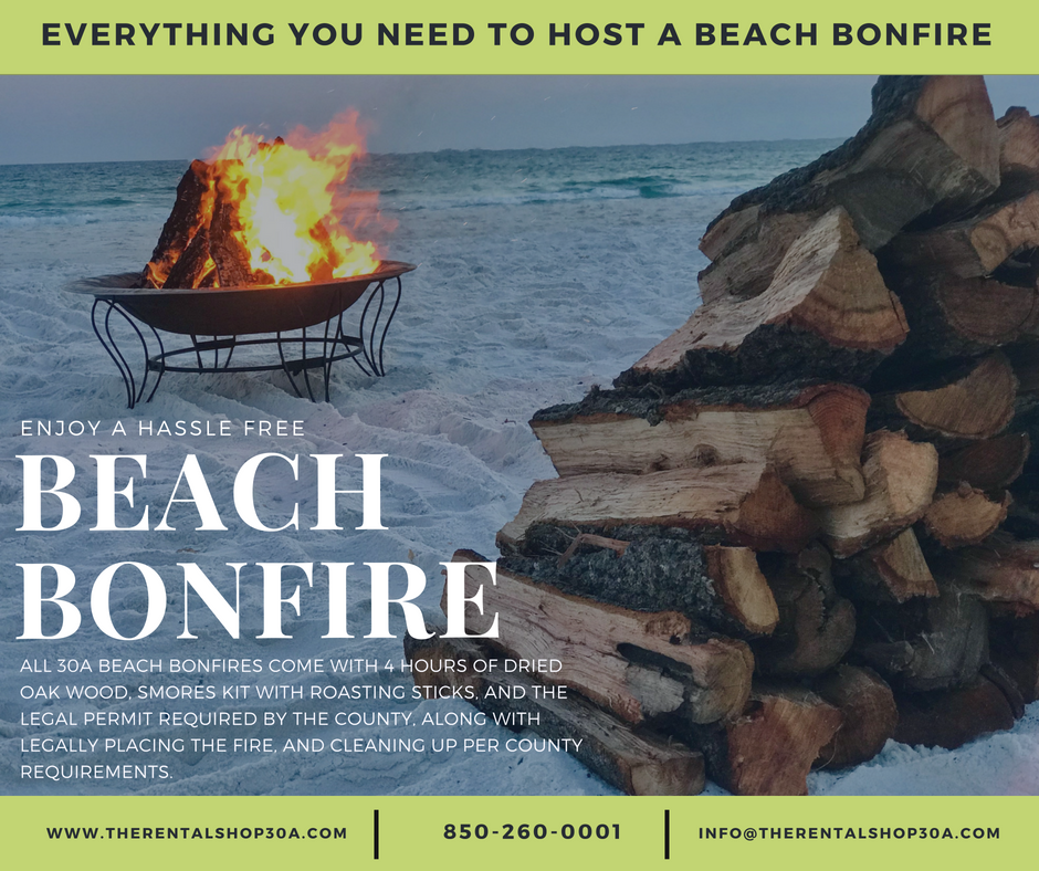 Everything You Need to Host a Beach Bonfire