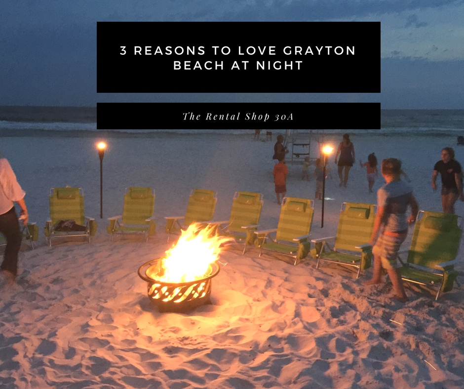 Beach Bonfire Grayton Beach