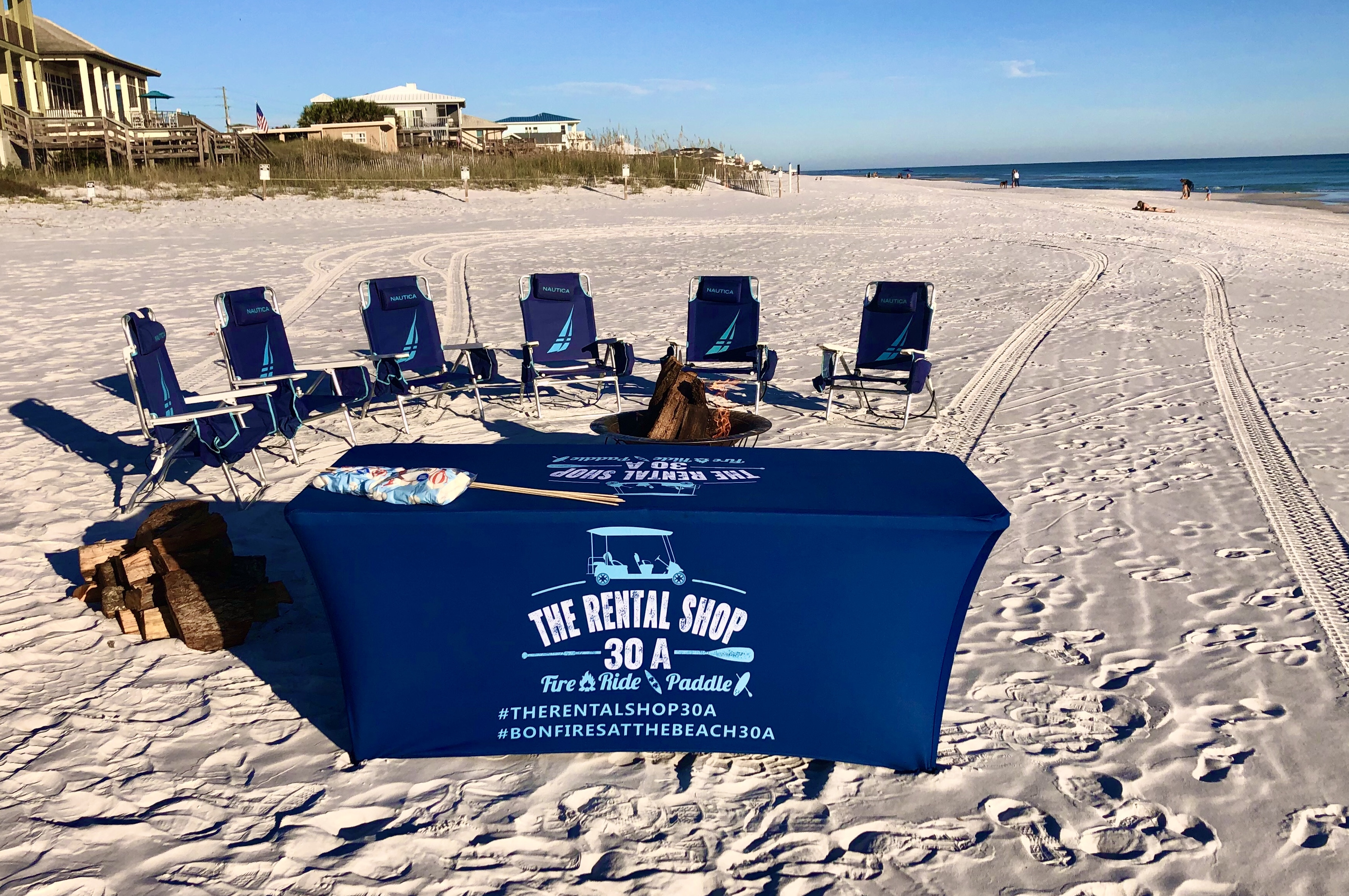 Beach bonfire service in santa rosa beach south walton fire permit