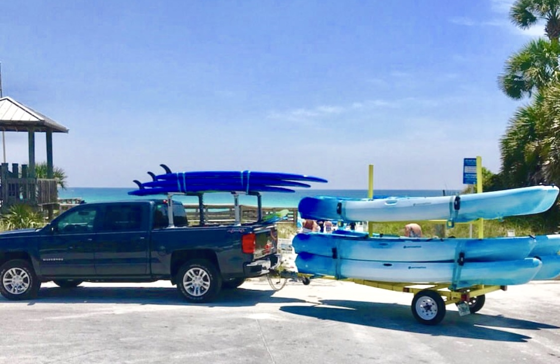 The rental Shop kayak Deliveries