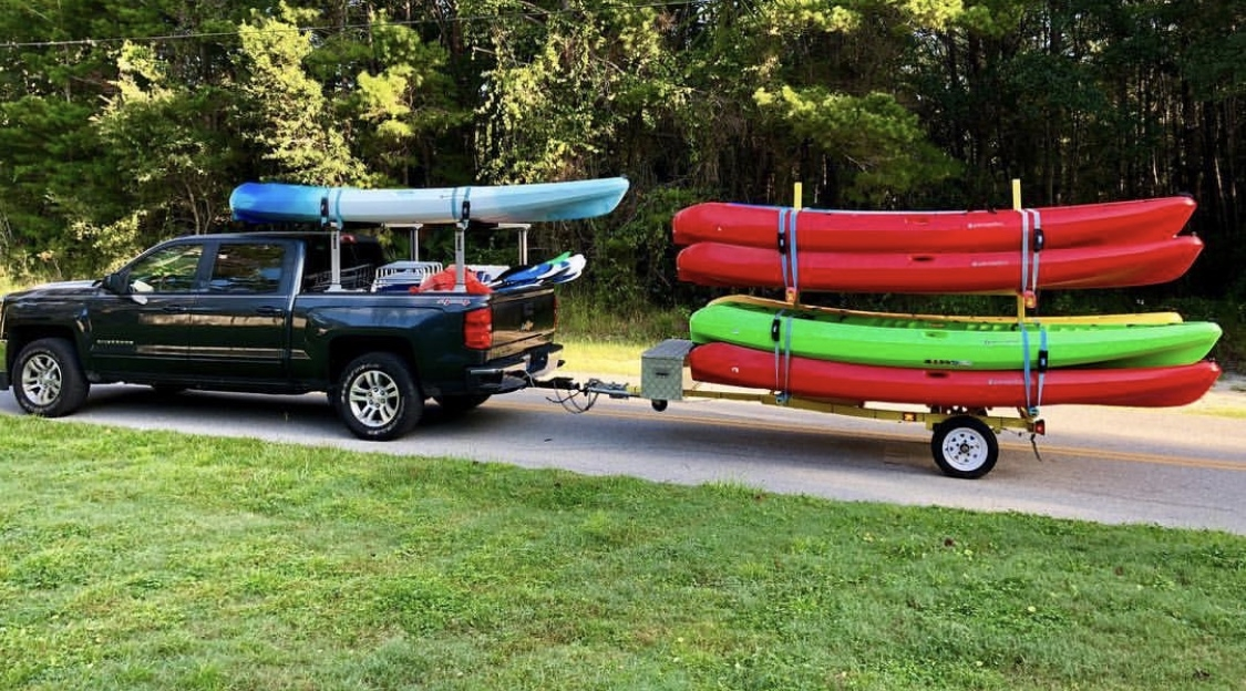 Fast free kayak rental delivery service