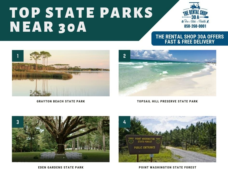 Top State Parks Near 30A
