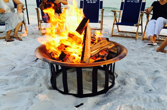 30a Beach Bonfires